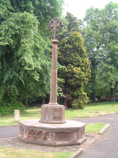 St Michael & All Angels Church War Memorial Tettenhall.