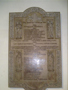 St. Bartholomew's Church Penn War Memorial