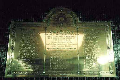 Wolverhampton Railway Station Memorial.